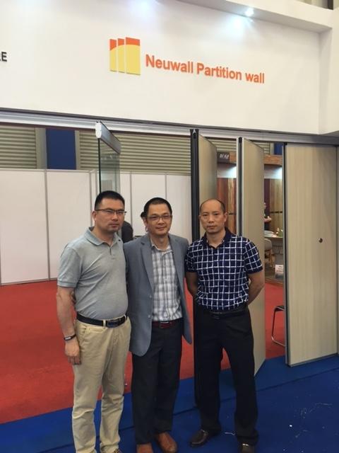 Indobuildtech Fair in Jakatar,Indonesia