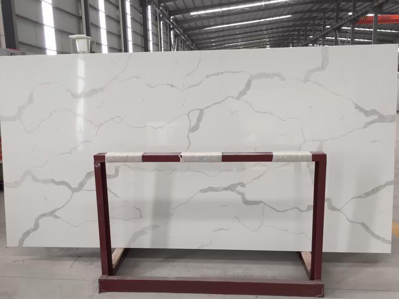 New calacatta style quartz stone