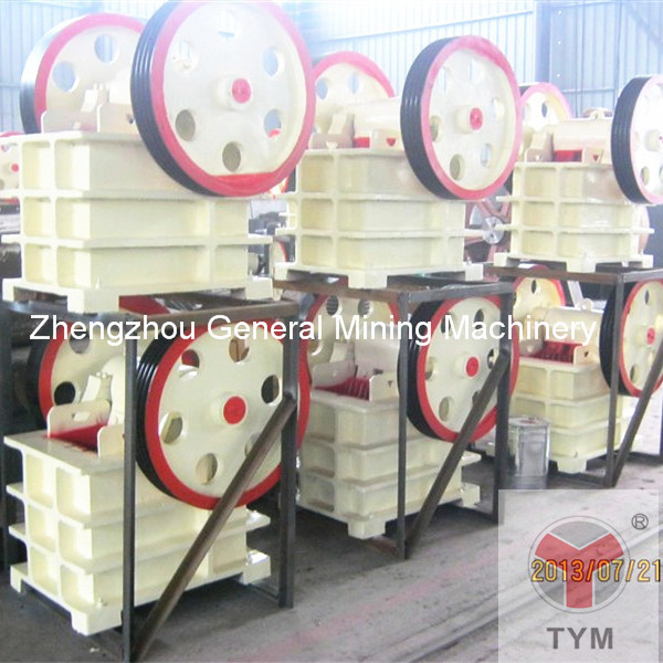 jaw crusher in workshop
