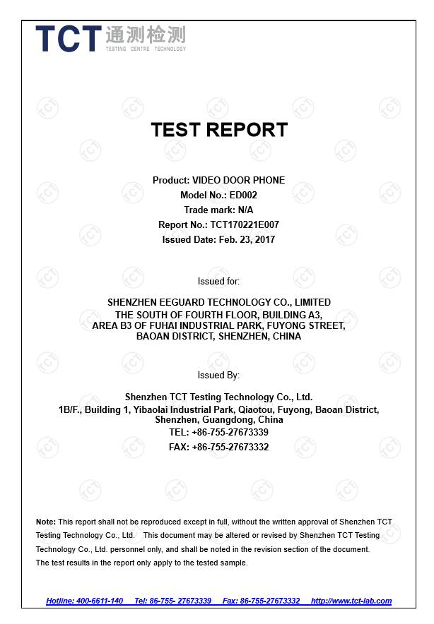 CE Report