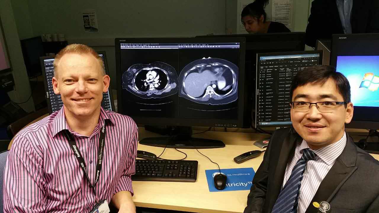 JUSHA Medical monitor installed in Nottingham University Hospital in England
