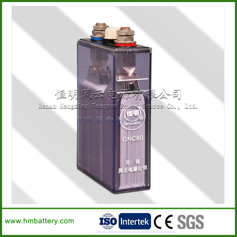 sintered type ni-cd rechargeable battery for engine starting