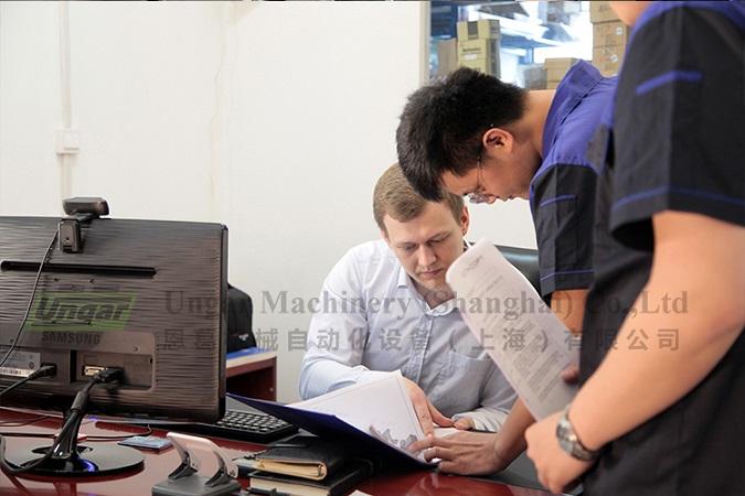UNGAR Design and Overseas Service Engineer Team