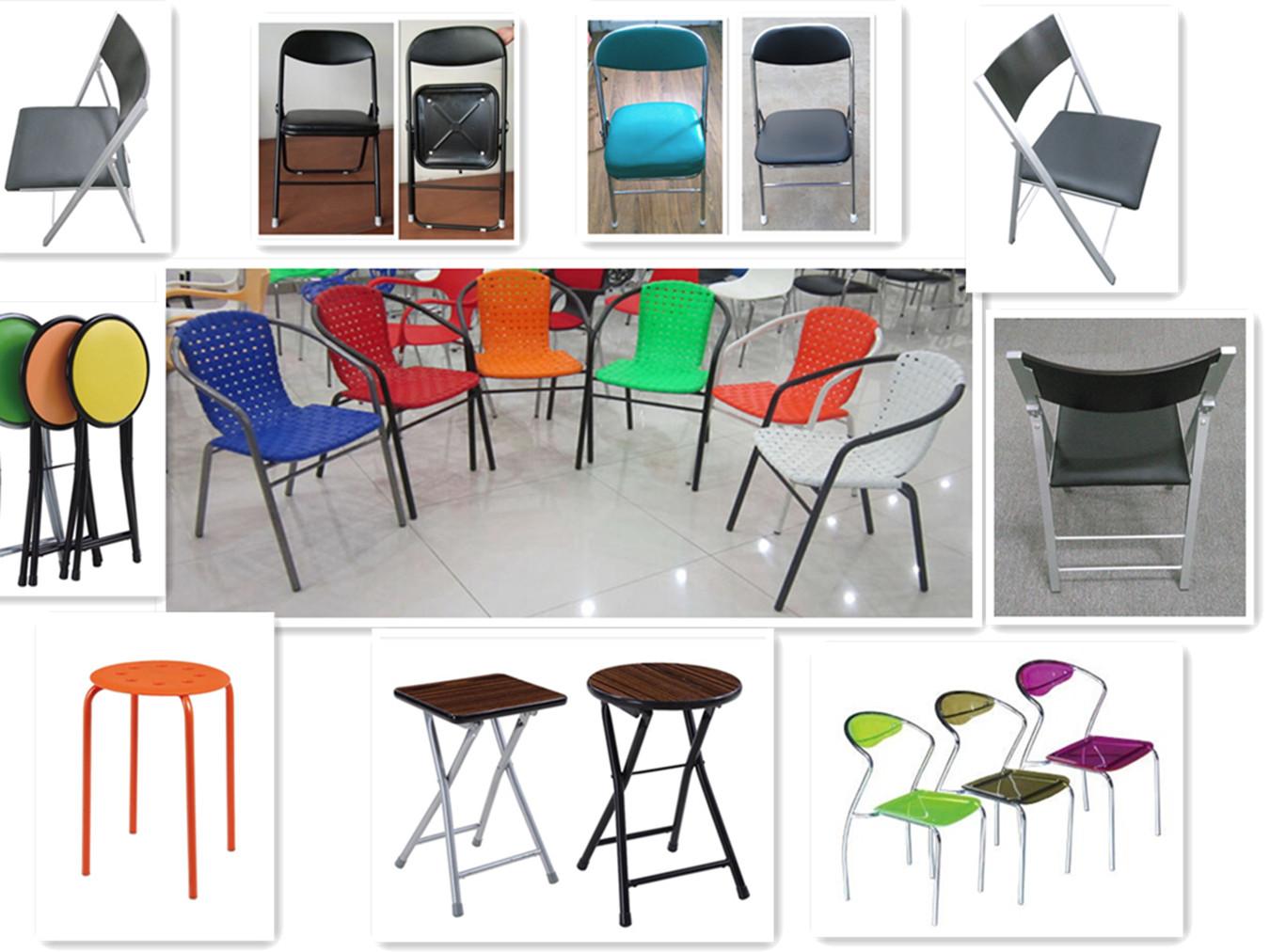 school furniture plastic folding training chair