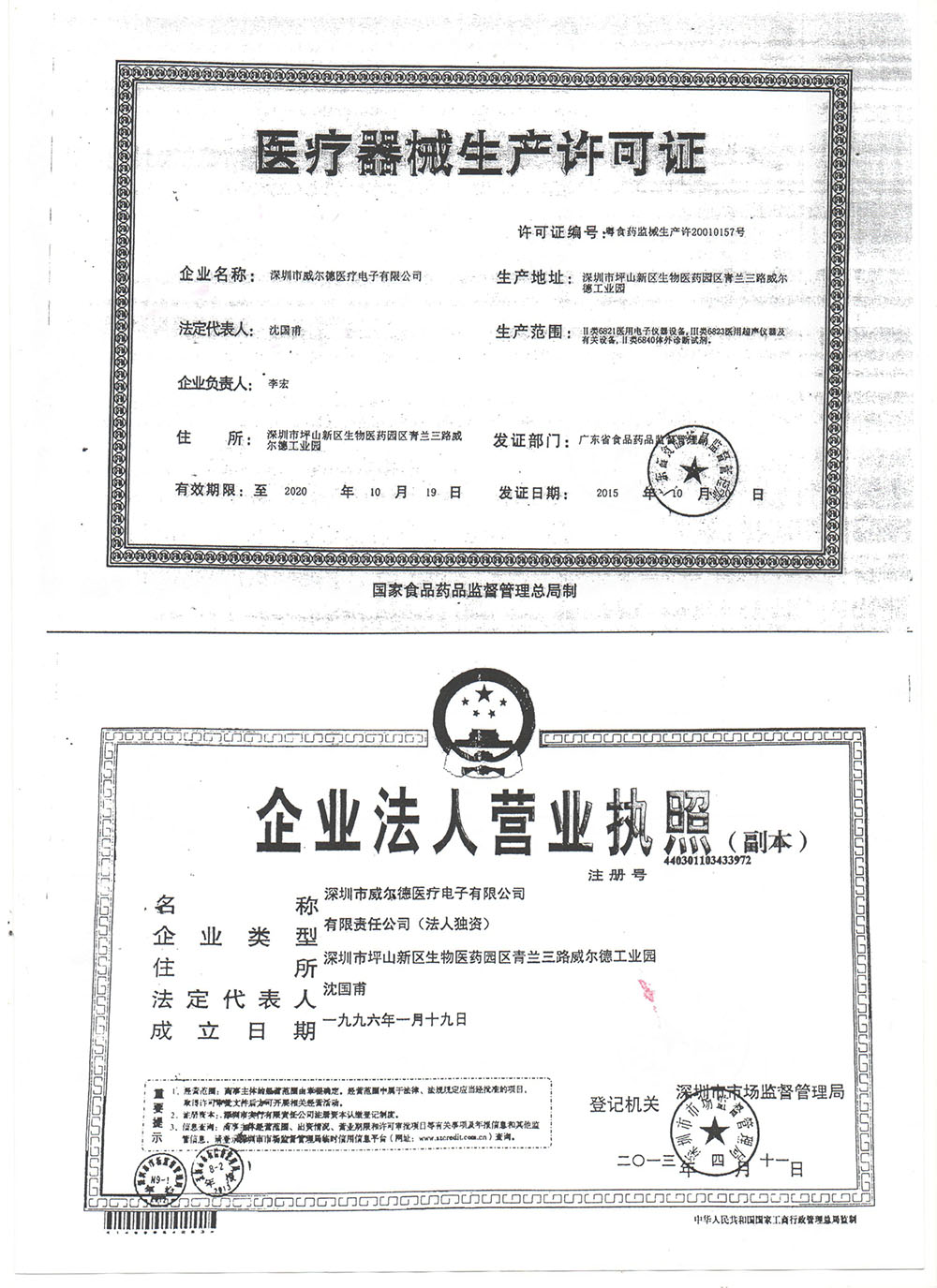CFDA License