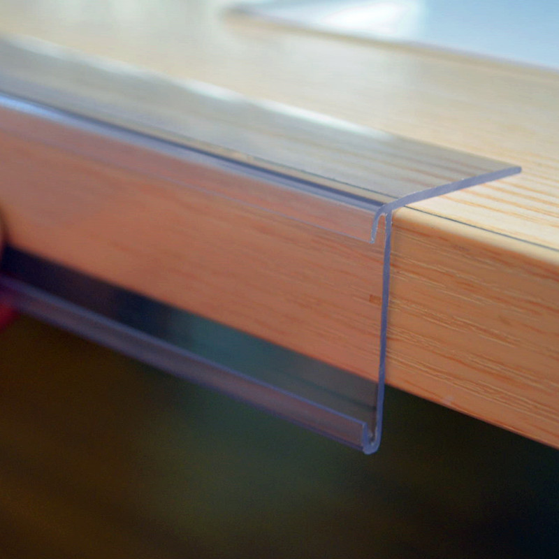 Extrusion Plastic Profile for Shelves
