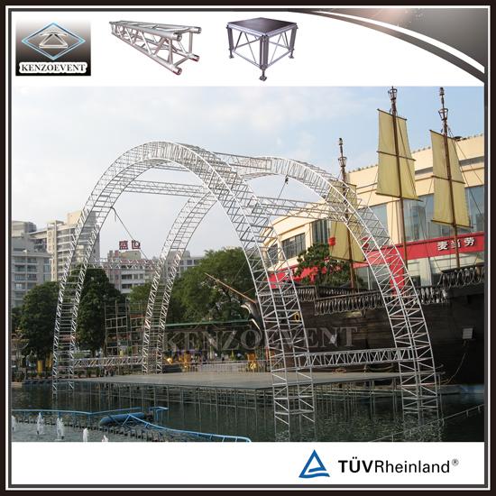 Aluminum Curved Truss