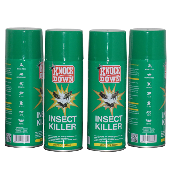 Knock-Down Household Insecticide Spray