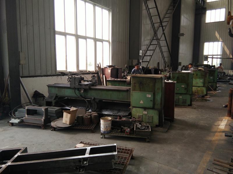 Lathe machining shop