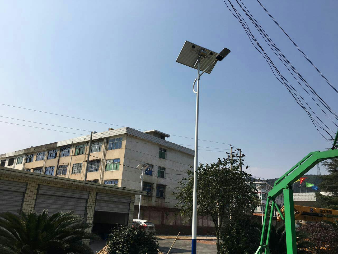 50w solar street light LANYU Brand