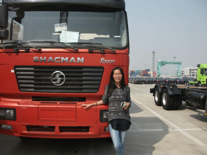Truck Delivered At Port