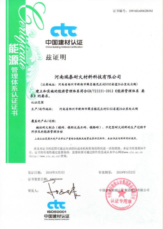 Energy Management ISO 50001