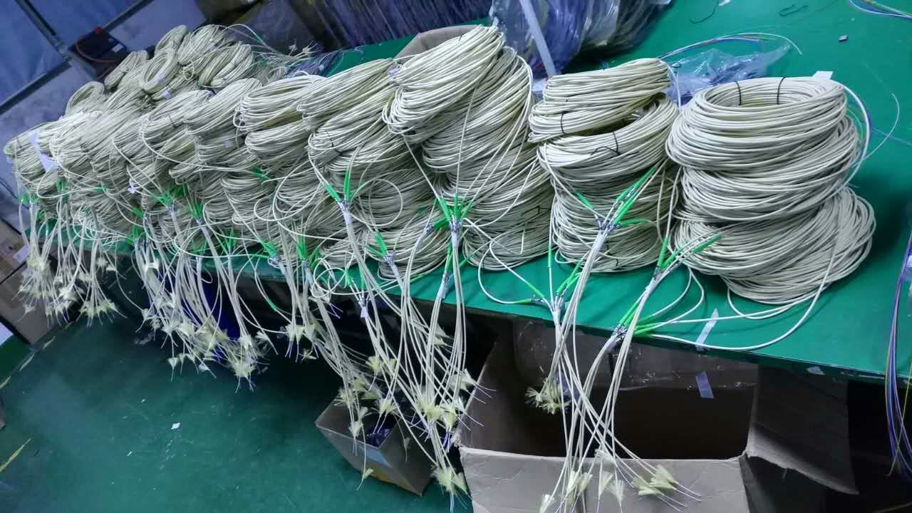 Patch cord production