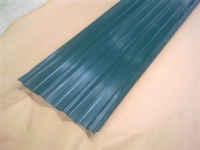 Prepainted Embossed Galvanized Steel Sheets in Coil for Nigeria