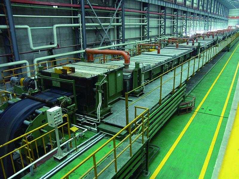 GI production line