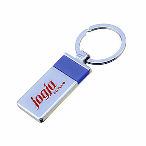 metal keychain with acrylic