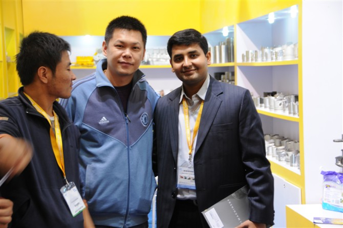 our participation bauma china fair 2010