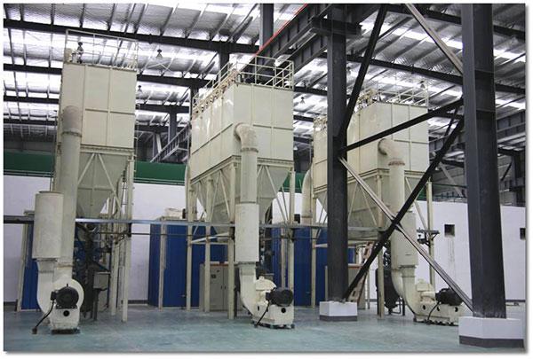 Manufacturing Process - Grind Powder (step 1)