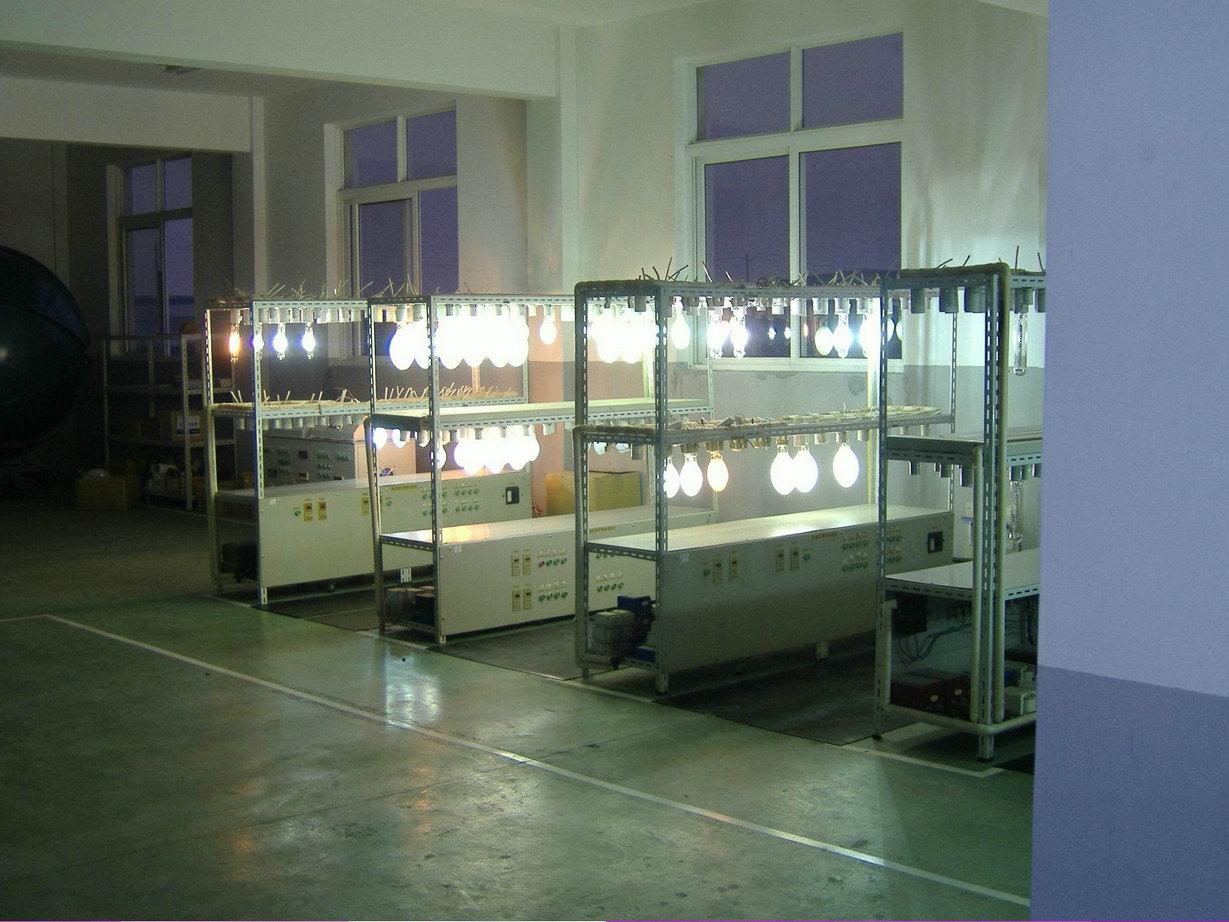 lamp aging room