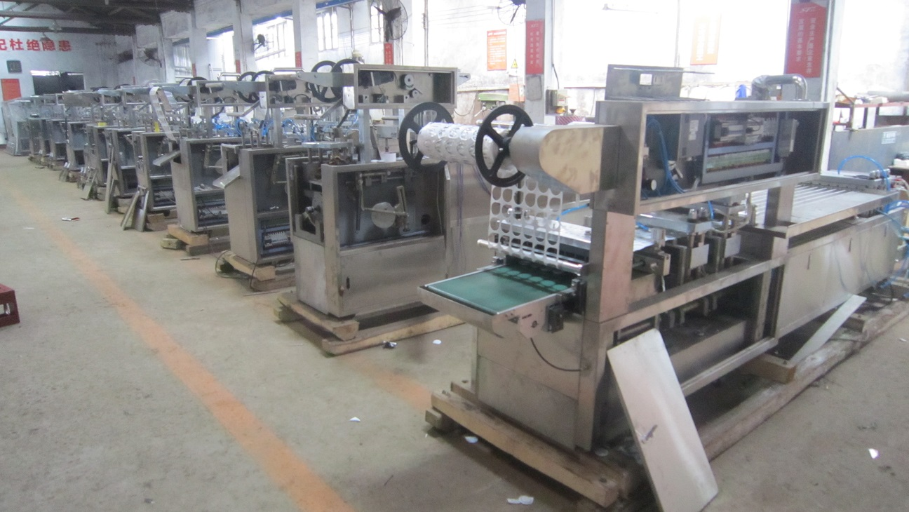Blister packing machinery warehouse