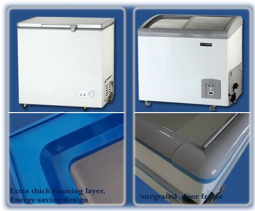 Extra thick Foaming layer & Energy saving design & integrated door frame