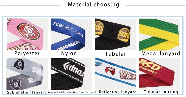Lanyard material