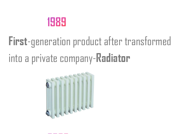 First-generation product