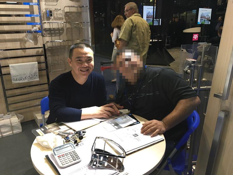 customer visit on 2017 Jan IBS