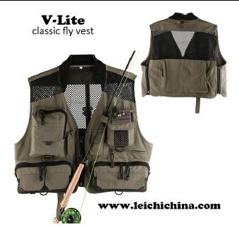 NEW Arrival fly fishing V-lite Calssic fly vest