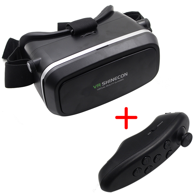 High Quliaty 3D Virtual Reality Google Cardboard with Bluetooth Remote Controller