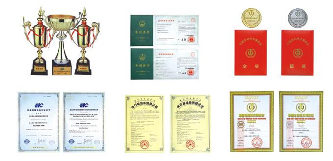 ZQ Machinery | Certificates