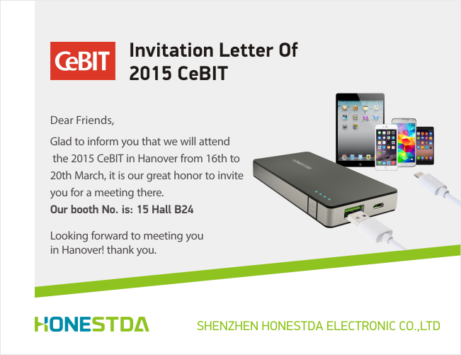 Cebit 2015 Invitation
