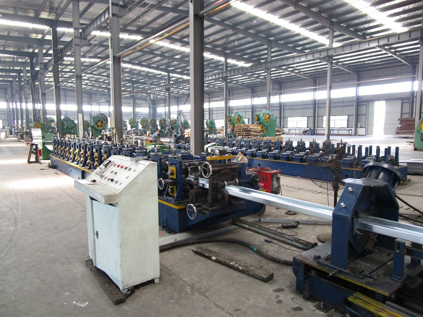 Production Machine for Steel Planks