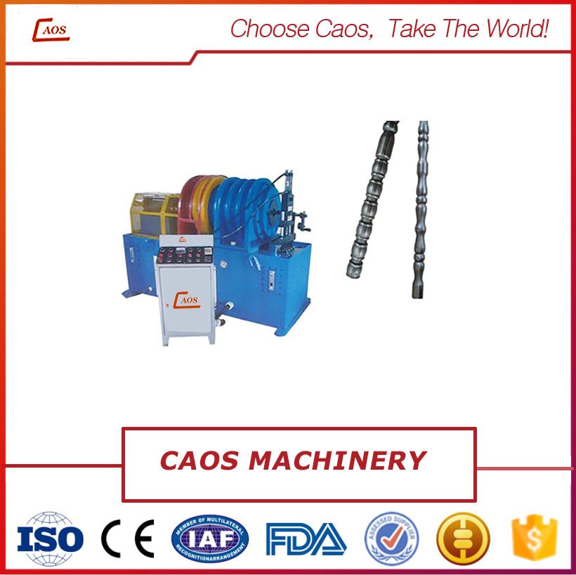 Metal pipe decorative machine