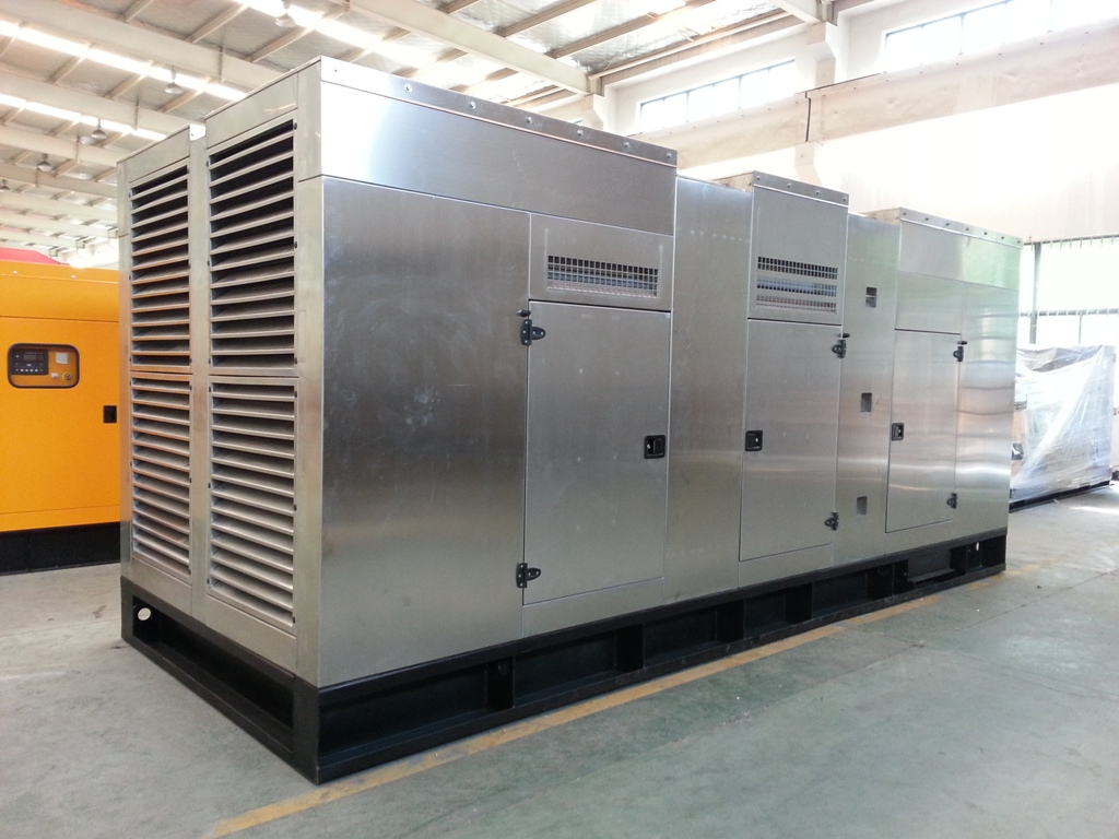Huihe Genset with Soundproof Canopy that Made of Stainless Steel