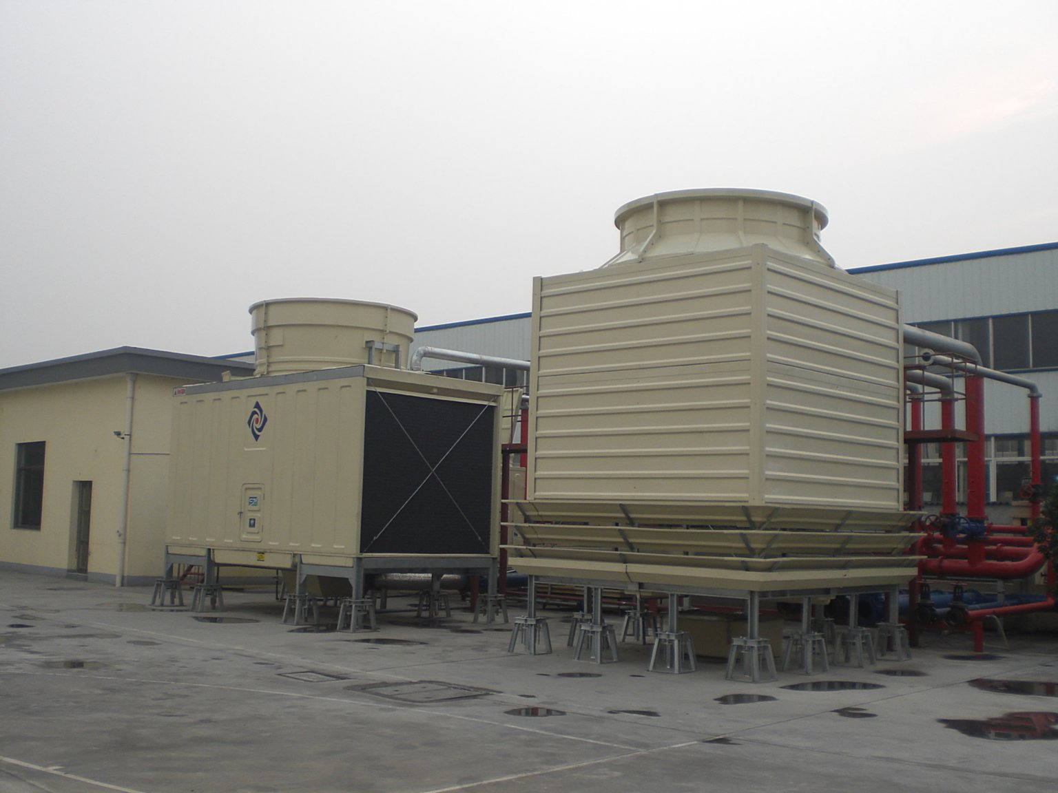 CTI Test Cooling Tower