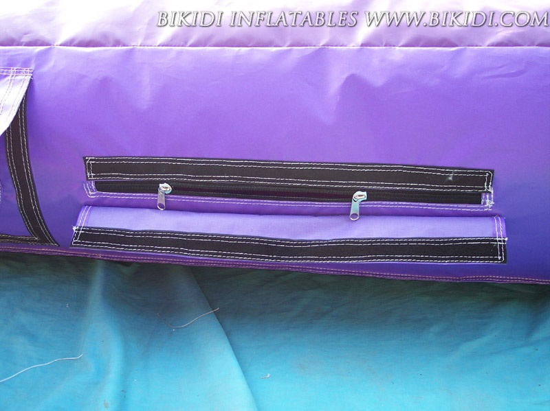 Double Fastener/Opening Zippers