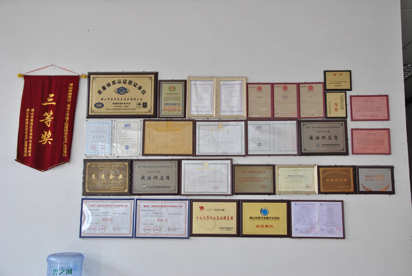 Glory and certificates
