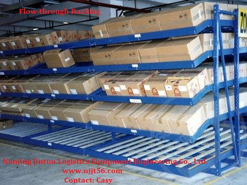 Good Quality Flow-through Rack for Industrial Use