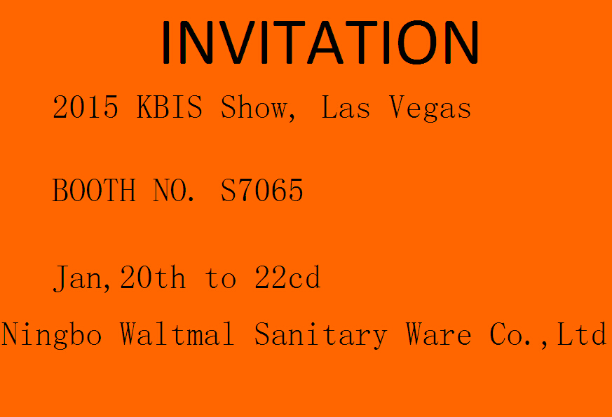 2015 KBIS SHOW BOOTH S7065