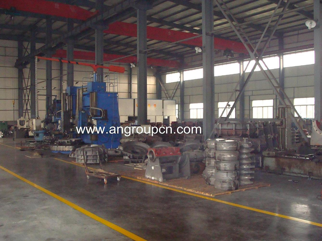 Mechanical process equipment