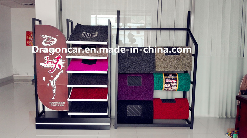 Car door mat show shelf