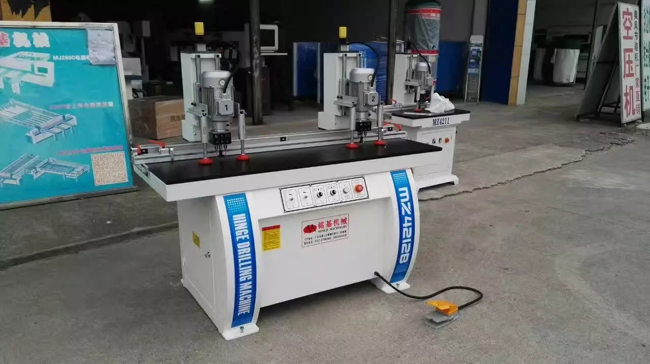 Hinge drilling machines are ready for deliverying to Malaysia