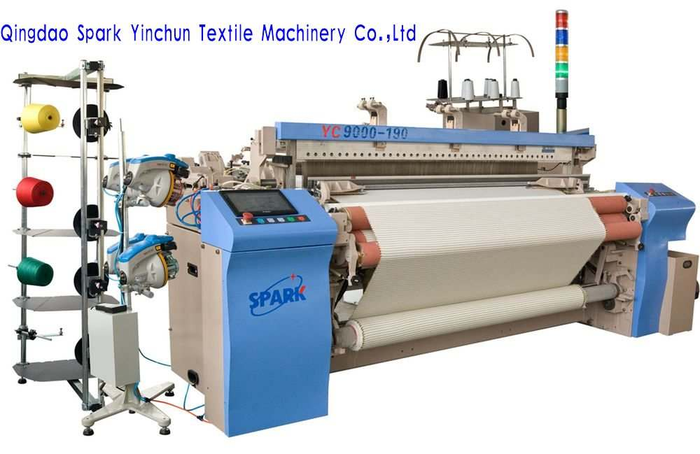 High speed and good quality air jet loom from China