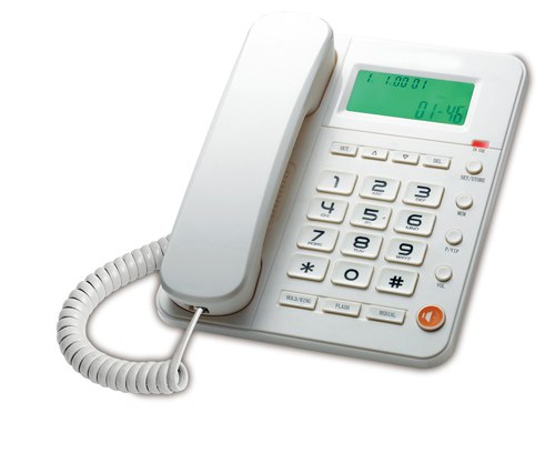 Caller ID Phone, LCD Display, Handsfree Phone, Office telephone