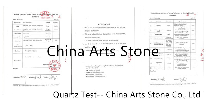 quartz test