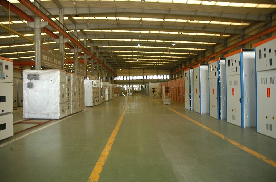 The workshop of switchgear