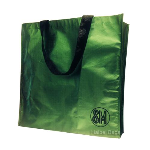 Metal film non-woven bag (HBNB-376)