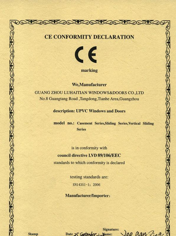 CE Certification - 2
