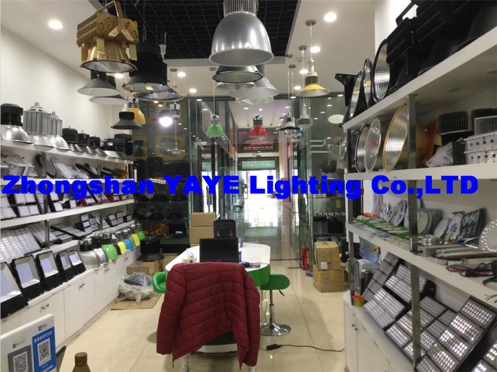 YAYE Newest Showroom 1 with Many newest Design LED Flood Lights/LED High Bay...